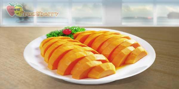 папайя-тарелка