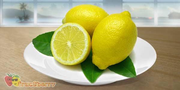 Лимон-тарелка