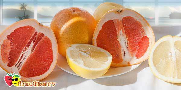 грейпфрут-красный-жёлтый