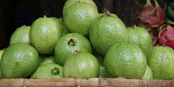гуава-на-рынке