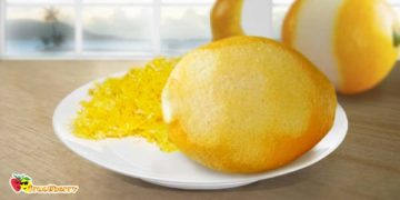 цедра и кожура лимона