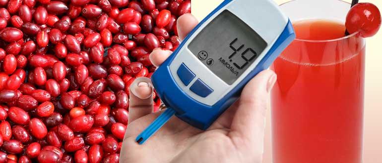 дерн при диабете