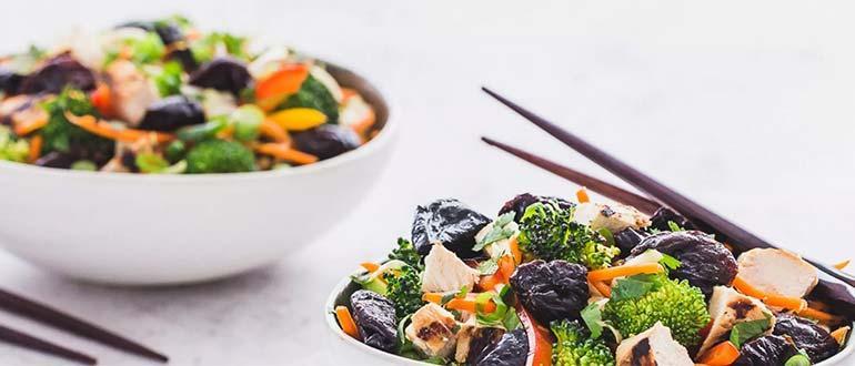 блюда с черносливом