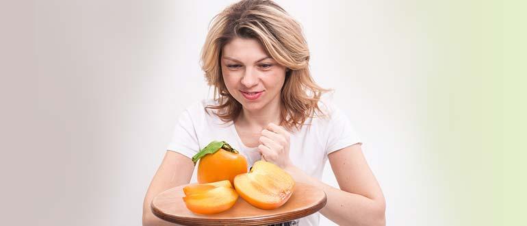 при похудении хурма
