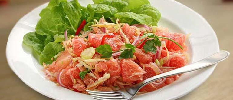 салат с помело