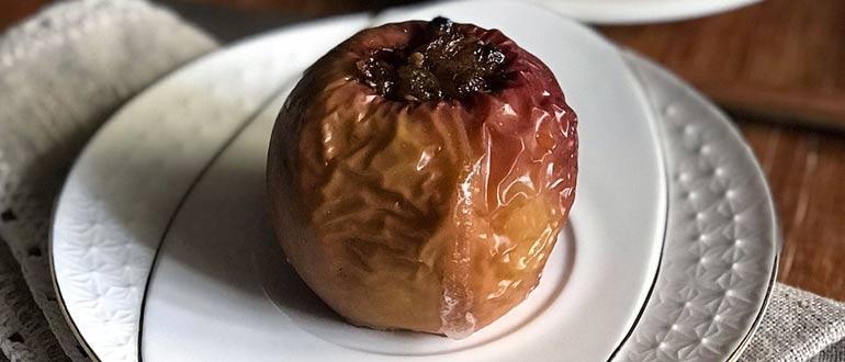 витамины в запеченом яблоке