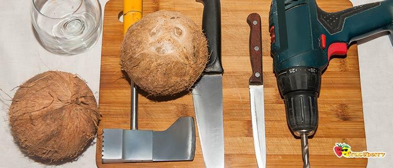 Инструмент для вскрытия кокоса
