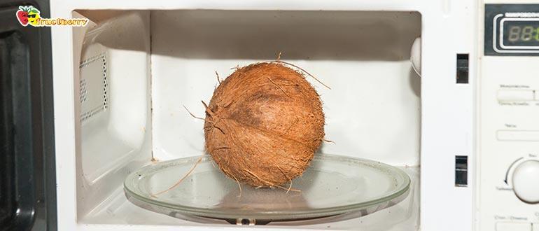 кокос в микроволновке