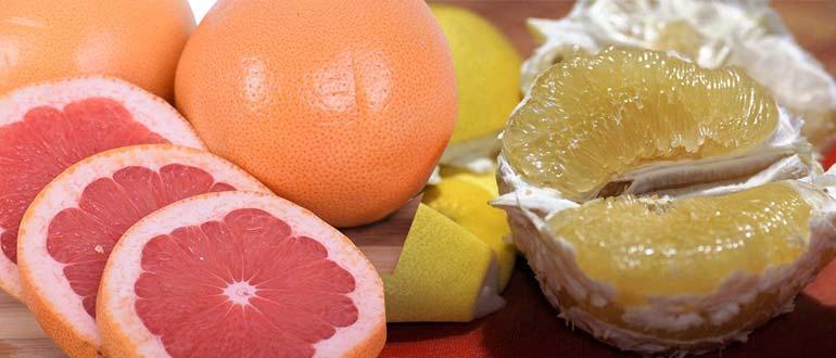 помело или грейпфрут