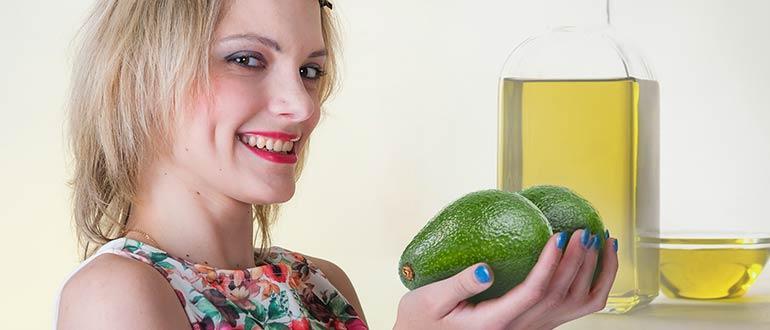 Авокадо масло для женщин