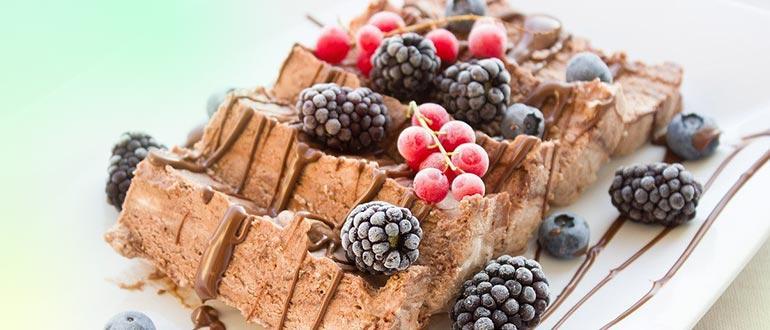 десерт из ягод