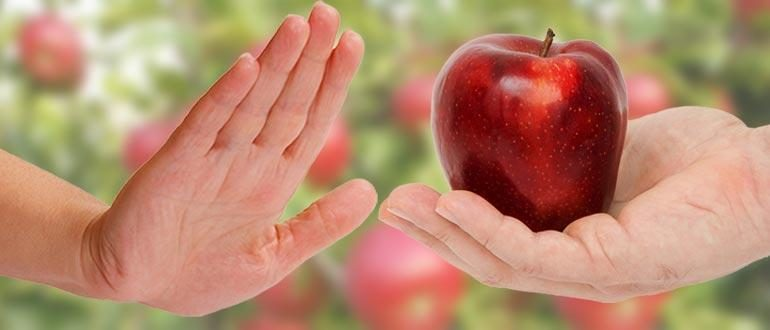 аллергия яблоки