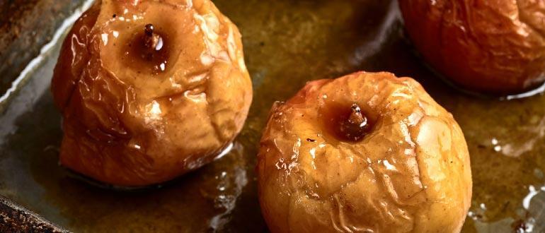 Печеные яблоки диета