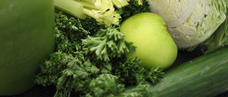 яблоки с овощами диета