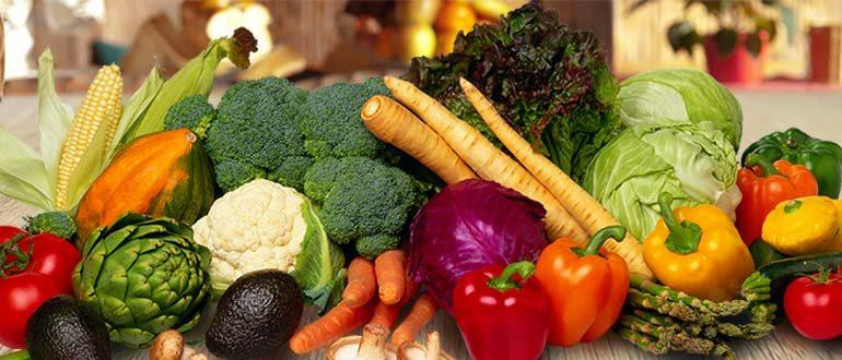 овощи список