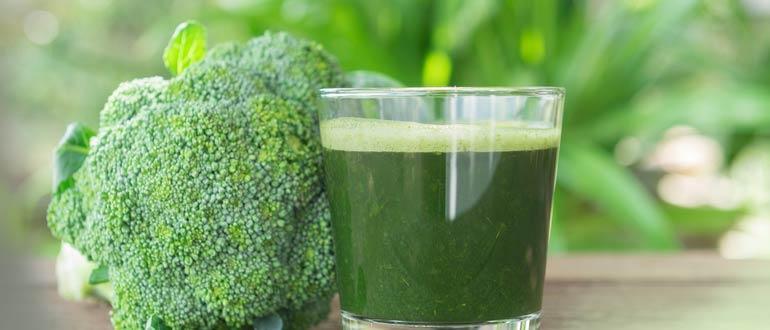сок брокколи