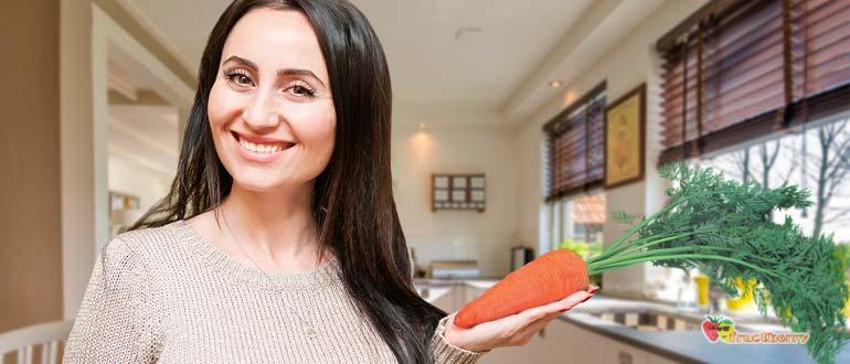 морковь для женщин
