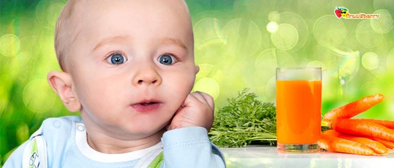 морковный сок для детей