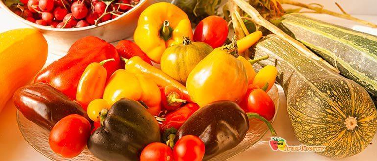 Калорийность овощей таблица фото